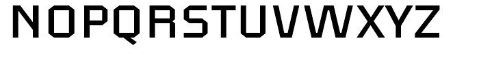 FF Aircraft Regular Font UPPERCASE