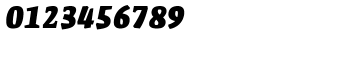 FF Amman Serif Extra Bold Italic Font OTHER CHARS
