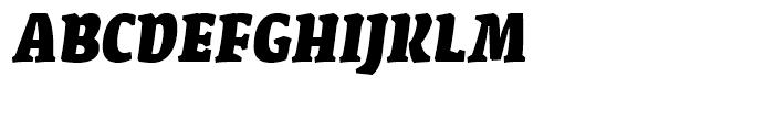 FF Amman Serif Extra Bold Italic Font UPPERCASE
