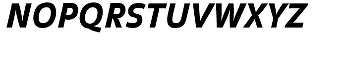 FF Balance Black Italic Font UPPERCASE