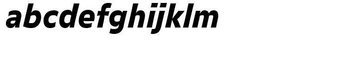 FF Balance Black Italic Font LOWERCASE