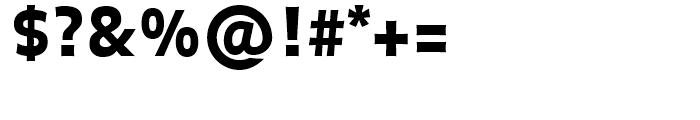 FF Balance Black Font OTHER CHARS