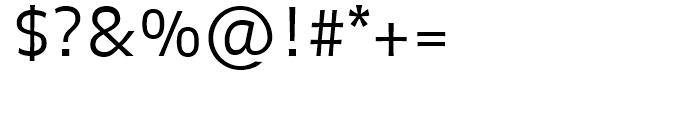 FF Balance Light Font OTHER CHARS