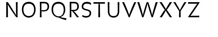 FF Balance Light Font UPPERCASE