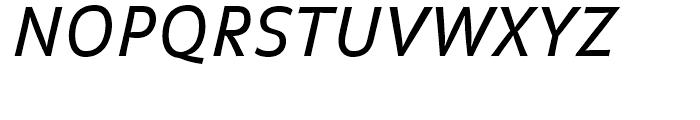 FF Balance Regular Italic Font UPPERCASE