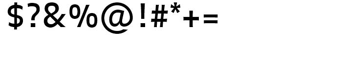 FF Balance Regular Font OTHER CHARS