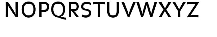 FF Balance Regular Font UPPERCASE