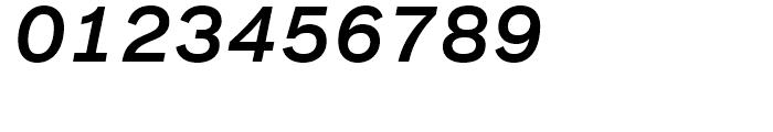 FF Bau Medium Italic Font OTHER CHARS