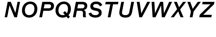 FF Bau Medium Italic Font UPPERCASE