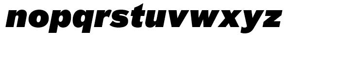 FF Bau Super Italic Font LOWERCASE