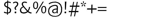FF BeoSans Hard R20 Regular Font OTHER CHARS