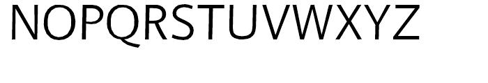 FF BeoSans Hard R20 Regular Font UPPERCASE