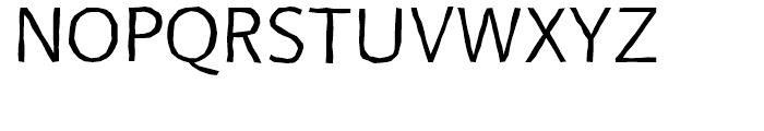 FF BeoSans Hard R21 Regular Font UPPERCASE