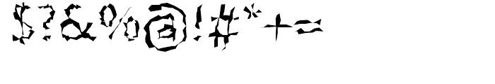 FF BeoSans Hard R24 Regular Font OTHER CHARS