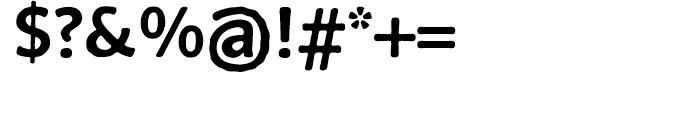 FF BeoSans Soft R10 Bold Font OTHER CHARS