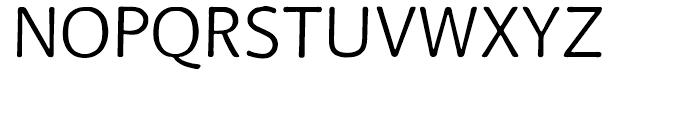 FF BeoSans Soft R10 Regular Font UPPERCASE
