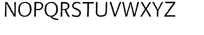 FF BeoSans Soft R11 Regular Font UPPERCASE