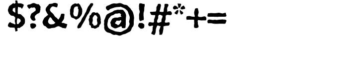 FF BeoSans Soft R12 Bold Font OTHER CHARS