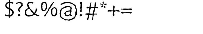 FF BeoSans Soft R12 Regular Font OTHER CHARS