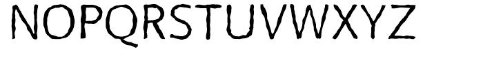 FF BeoSans Soft R12 Regular Font UPPERCASE