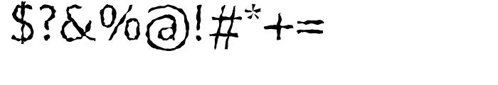 FF BeoSans Soft R13 Regular Font OTHER CHARS