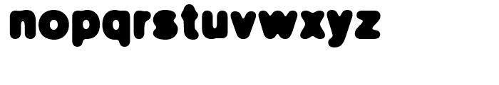 FF Blur Bold Font LOWERCASE