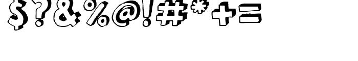 FF Bokka Shadow Regular Font OTHER CHARS