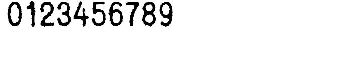FF Bull Inked Regular Font OTHER CHARS