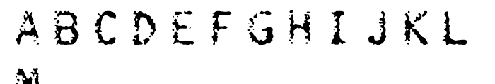 FF Burokrat Three Regular Font UPPERCASE