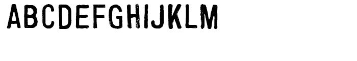 FF Cartonnage Regular Font UPPERCASE