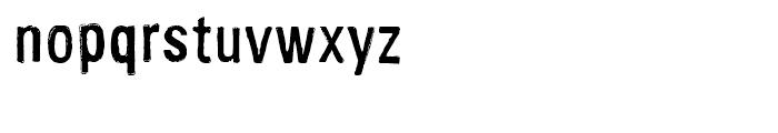 FF Cartonnage Regular Font LOWERCASE