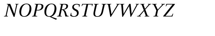 FF Celeste Book Italic Font UPPERCASE