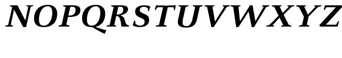 FF Celeste Small Text Bold Italic Font UPPERCASE
