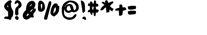 FF Childs Play Age Nine Regular Font OTHER CHARS