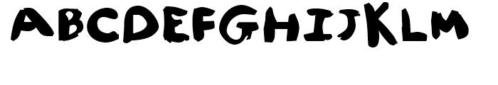 FF Childs Play Age Nine Regular Font UPPERCASE