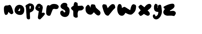 FF Childs Play Age Ten Regular Font LOWERCASE
