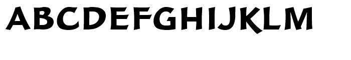 FF Clair Black Font UPPERCASE
