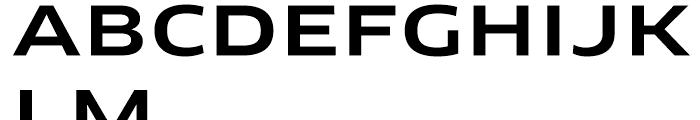 FF Clan Extended Medium Font UPPERCASE
