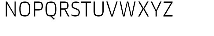 FF Clan Narrow Book Font UPPERCASE