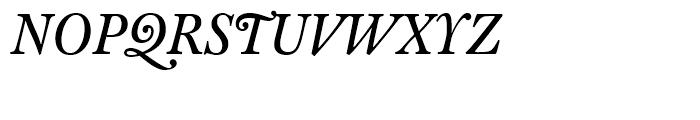 FF Clifford Eighteen Regular Italic Font UPPERCASE