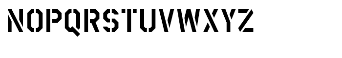 FF Container Regular Font UPPERCASE