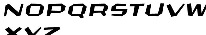 FF CrashBangWallop Light Italic Font UPPERCASE