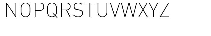 FF DIN Arabic Extra Light Font UPPERCASE