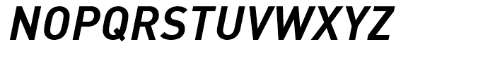 FF DIN Bold Italic Font UPPERCASE