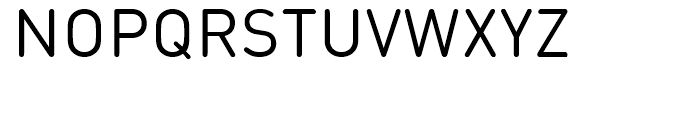 FF DIN Round Regular Font UPPERCASE