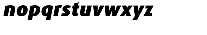 FF Dax Black Italic Font LOWERCASE