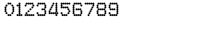 FF Dot Matrix One Regular Font OTHER CHARS