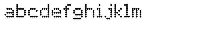 FF Dot Matrix Two Regular Font LOWERCASE