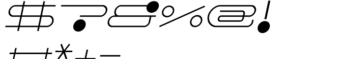 FF Droids Light Italic Font OTHER CHARS