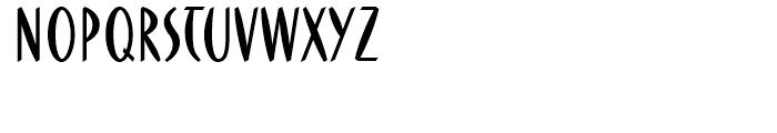 FF DuMoore Regular Font UPPERCASE